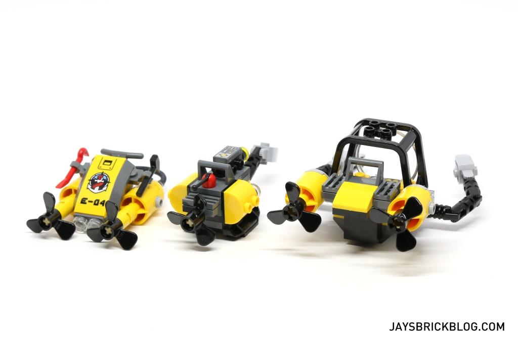 LEGO 60095 Deep Sea Exploration Vessel - Submersibles Back