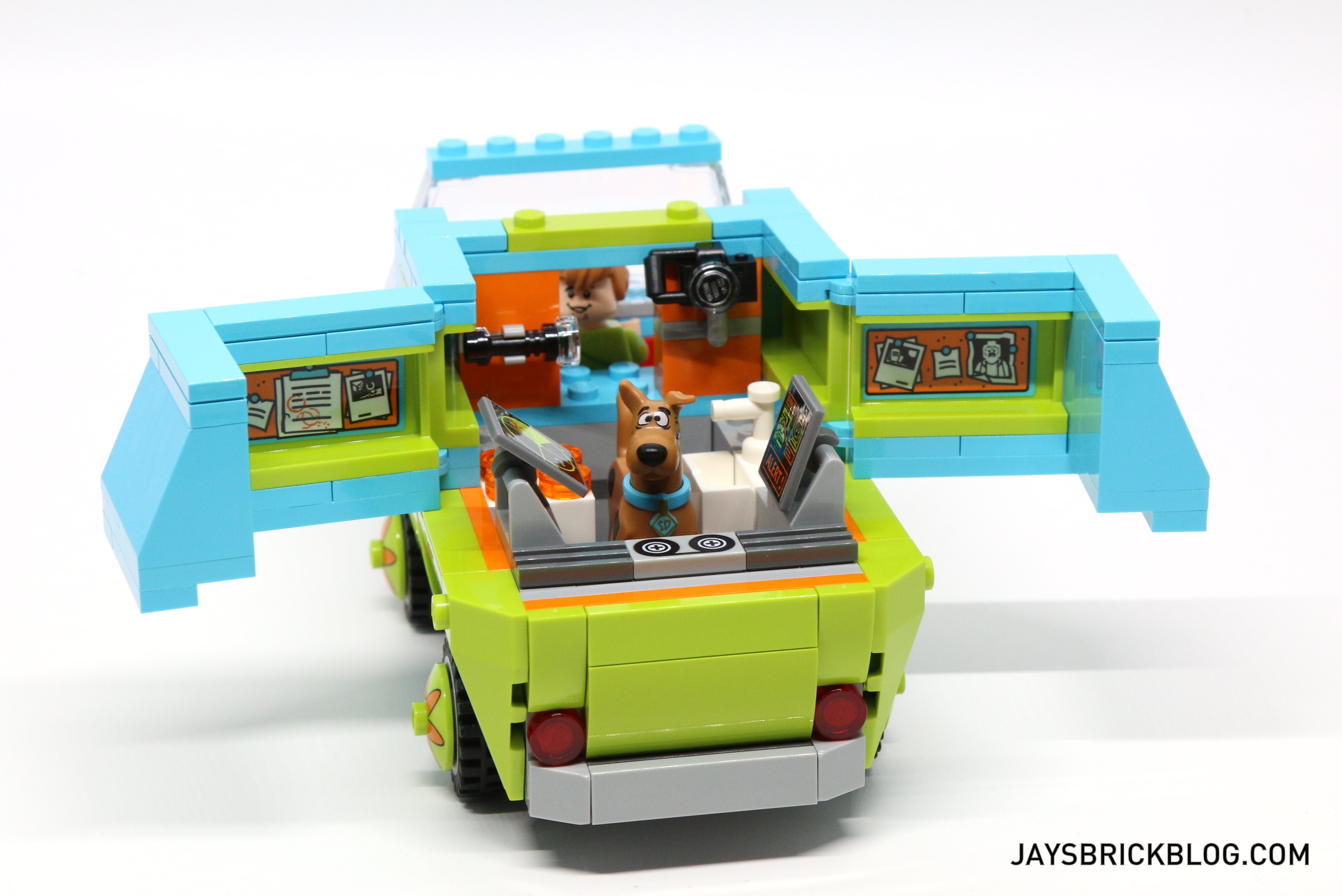 Review LEGO  The Mystery Machine - Lego house interior