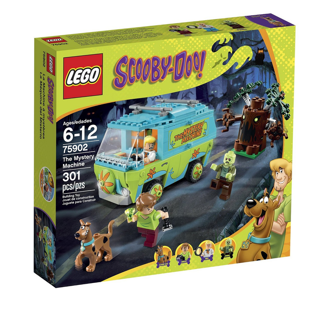 LEGO 75902 The Mystery Machine - Box Art
