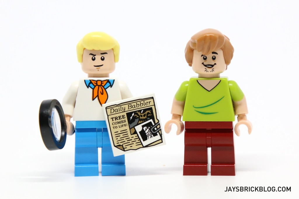 LEGO 75902 The Mystery Machine - Fred and Shaggy Minifigs