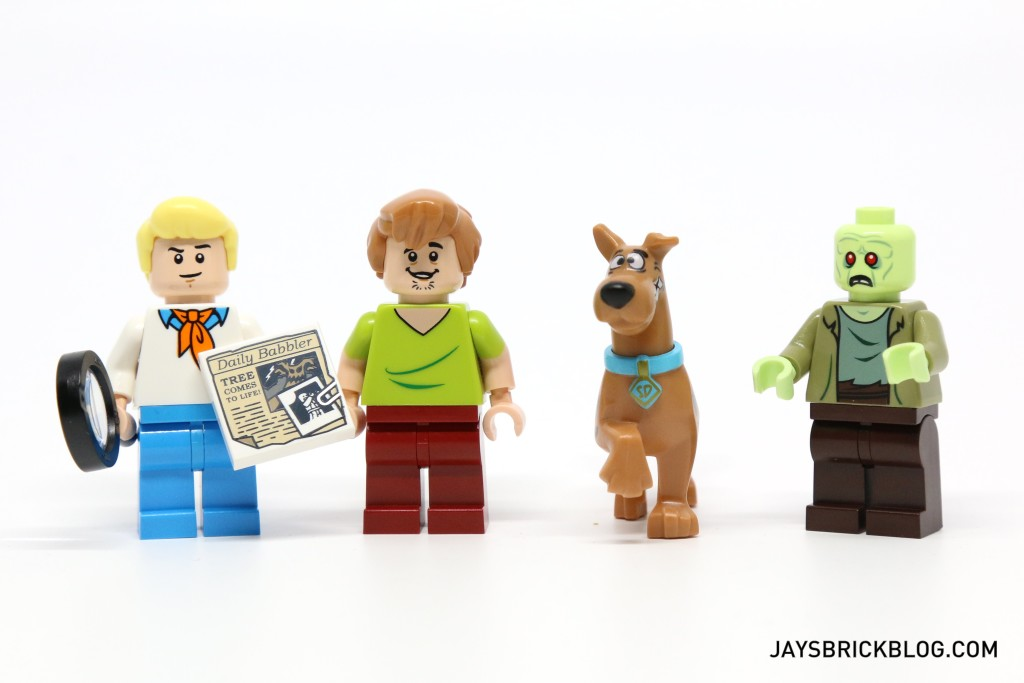 LEGO 75902 The Mystery Machine - Minifigures