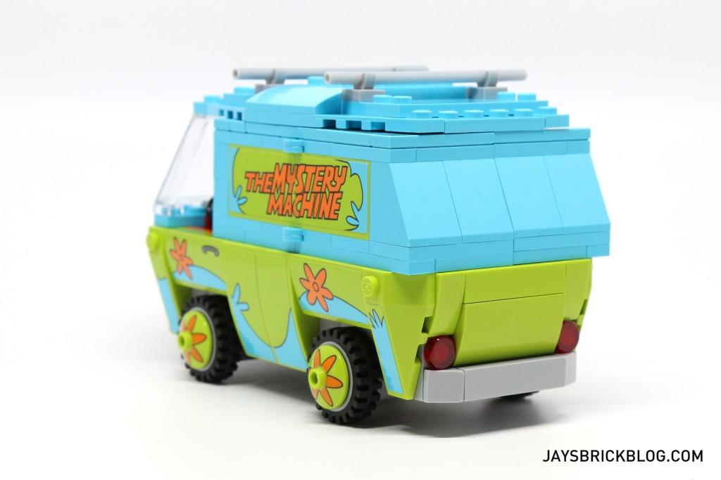 LEGO 75902 The Mystery Machine - Mystery Machine Back View