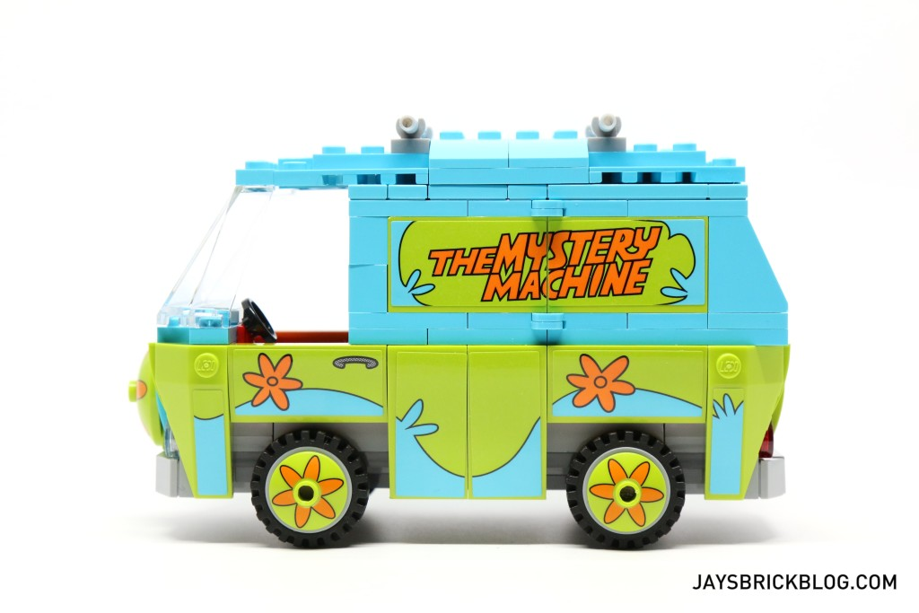 LEGO 75902 The Mystery Machine - Mystery Machine Van Side View