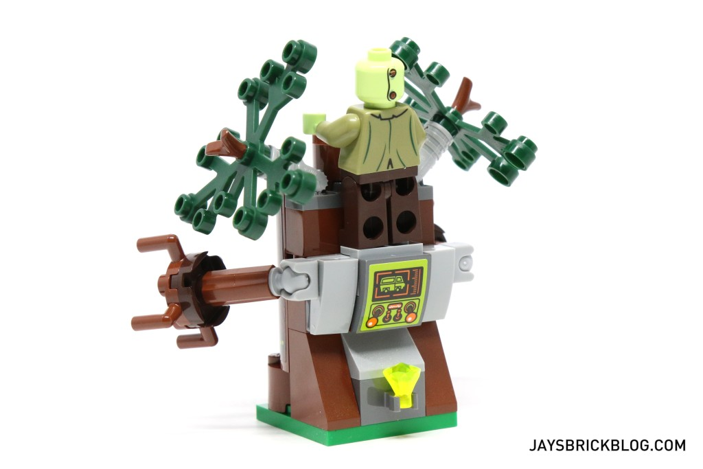 LEGO 75902 The Mystery Machine - Spooky Tree Back View