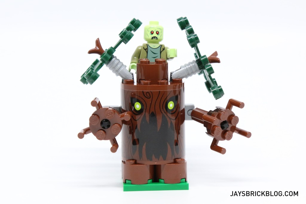 LEGO 75902 The Mystery Machine - Spooky Tree with Zombie