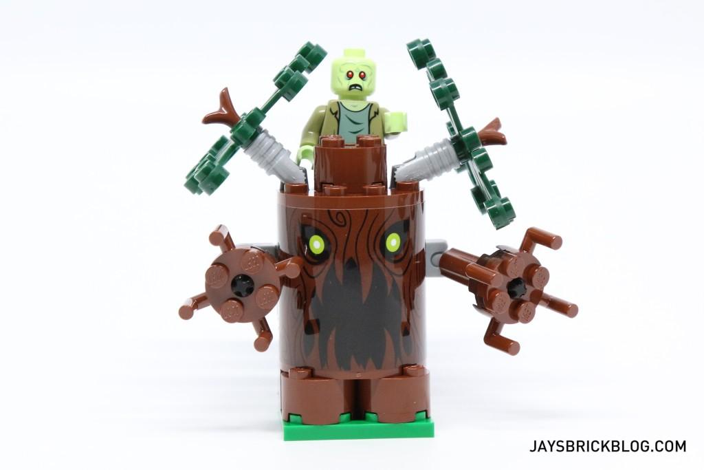 LEGO 75902 The Mystery Machine - Spooky Tree with Zombie