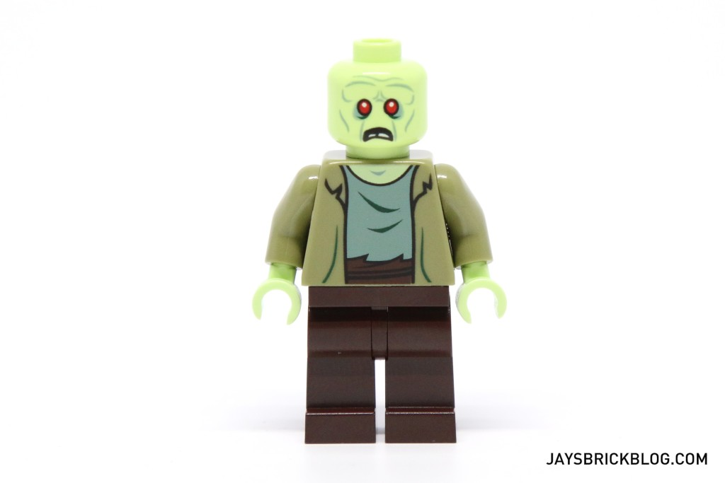LEGO 75902 The Mystery Machine - Zombie Zeke Minifigure