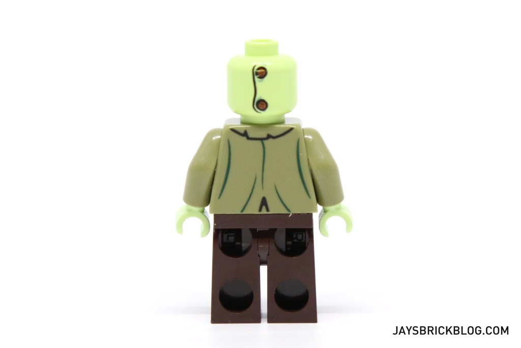 LEGO 75902 The Mystery Machine - Zombie Zeke Minifigure Back