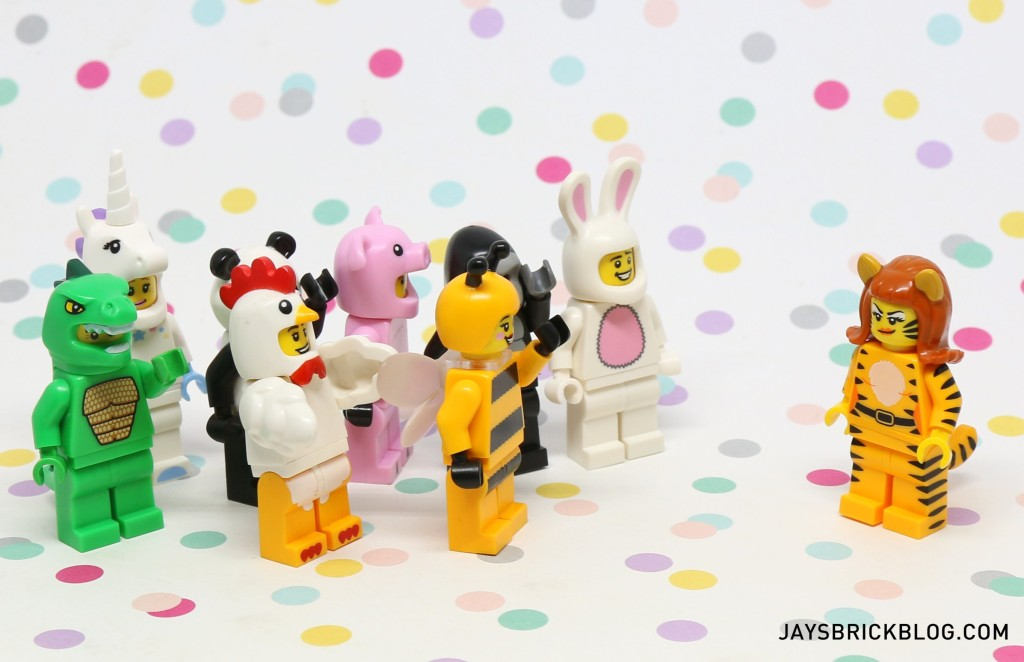 LEGO Minifigures Series 14 - Animal Suit Minifigures Welcome Tiger Woman