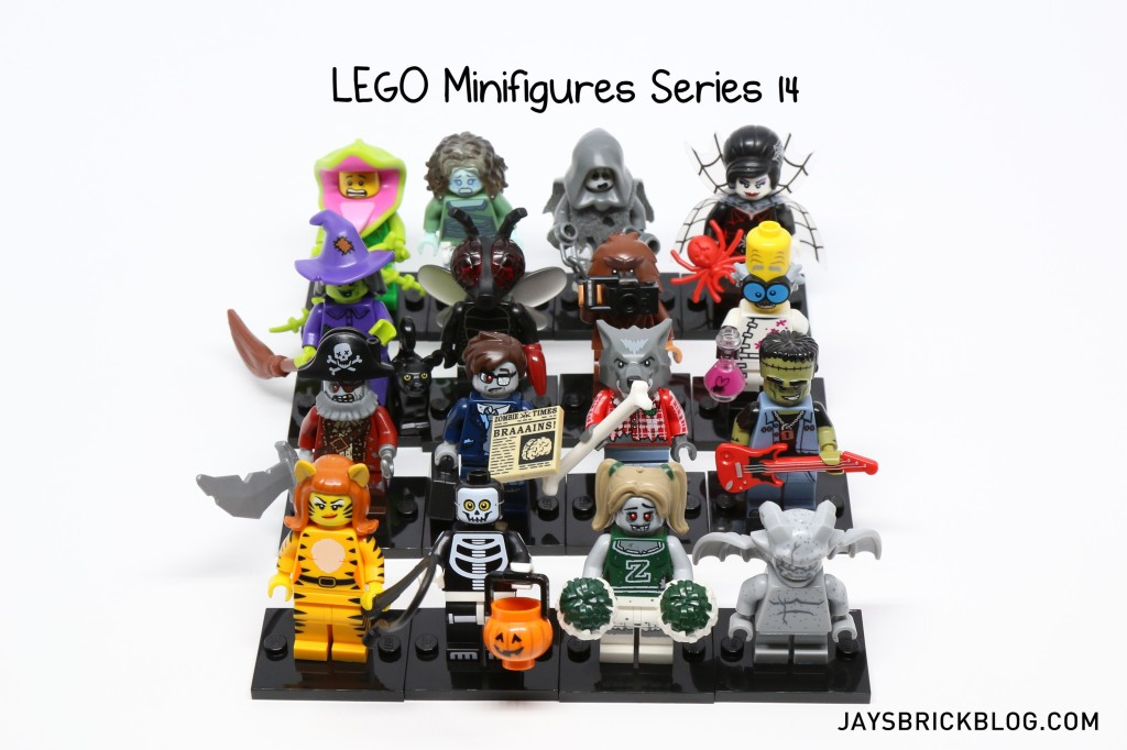 LEGO Minifigures Series 14 - Complete Set