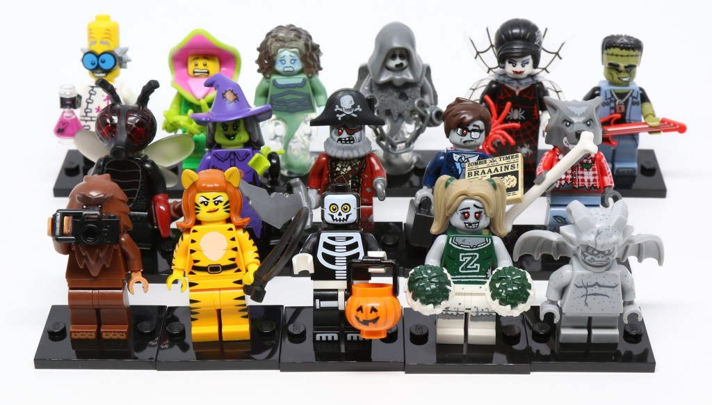 Review: LEGO Minifigures Series 14: Monsters