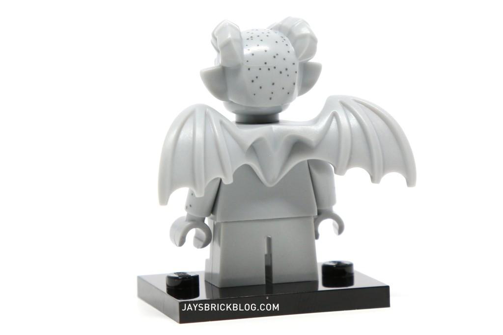 Lego Minifig Gargoyle Headgear x 1 Purple with Horns and Ears