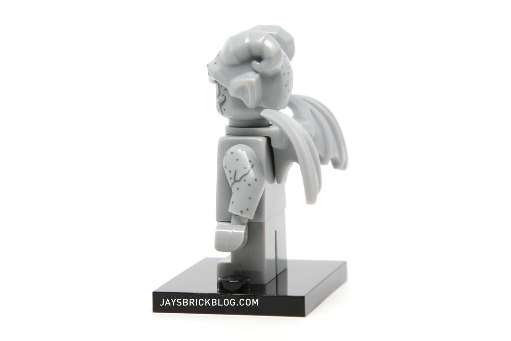 LEGO Minifigures Series 14 - Gargoyle Minifig Side View