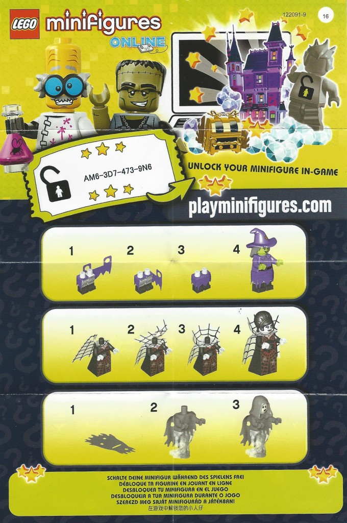 LEGO Minifigures Series 14 Instructions and Online Code