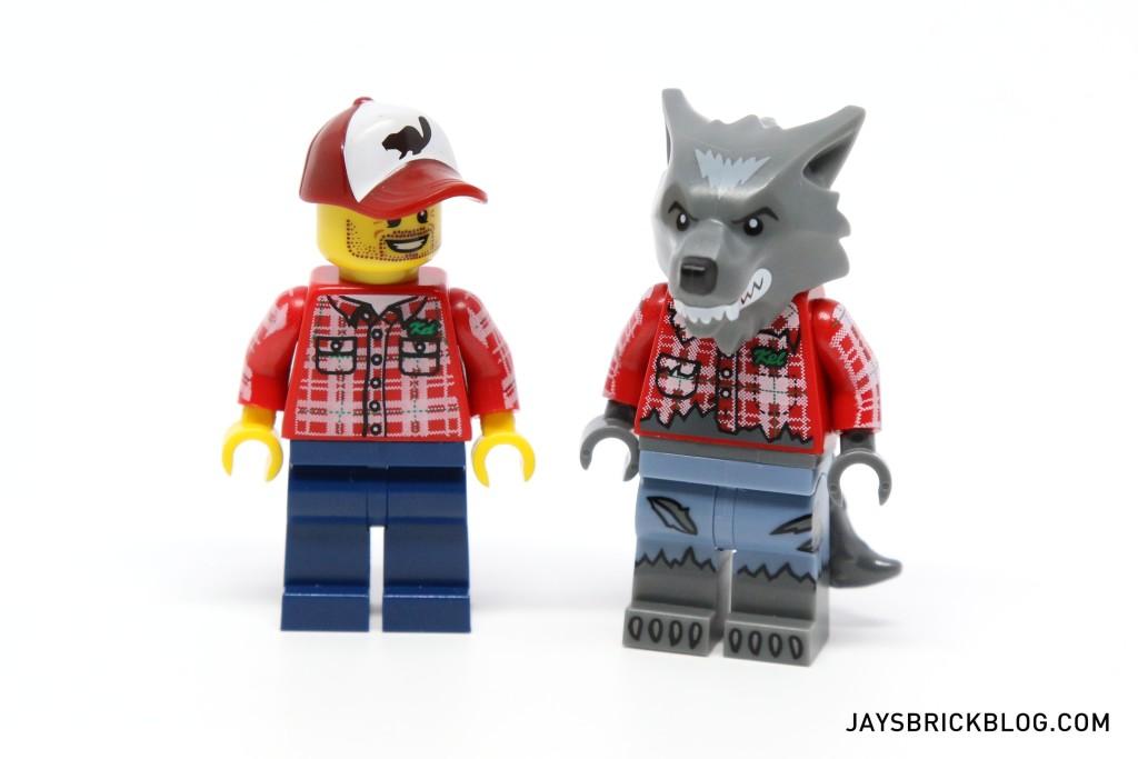 LEGO Minifigures Series 14 - Lumberjack Minifig and Werewolf