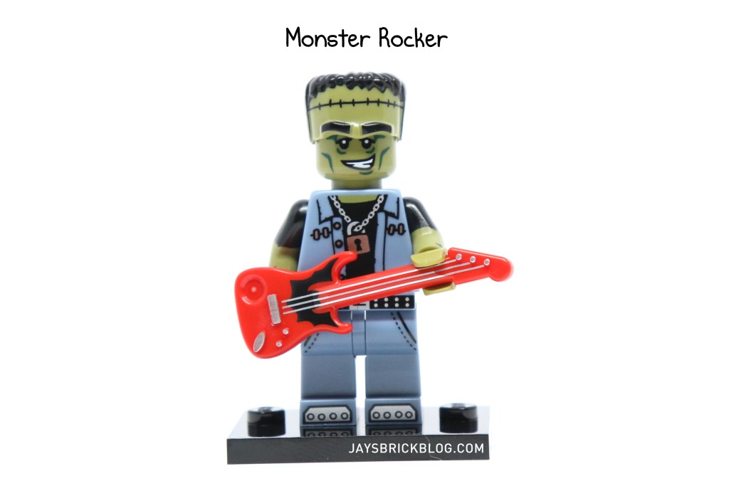 LEGO Minifigures Series 14 - Monster Rocker Minifigure