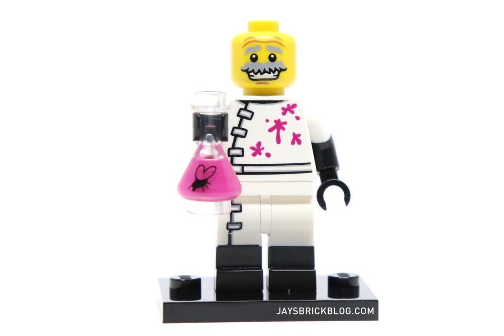 LEGO Minifigures Series 14 - Monster Scientist Minifig Head
