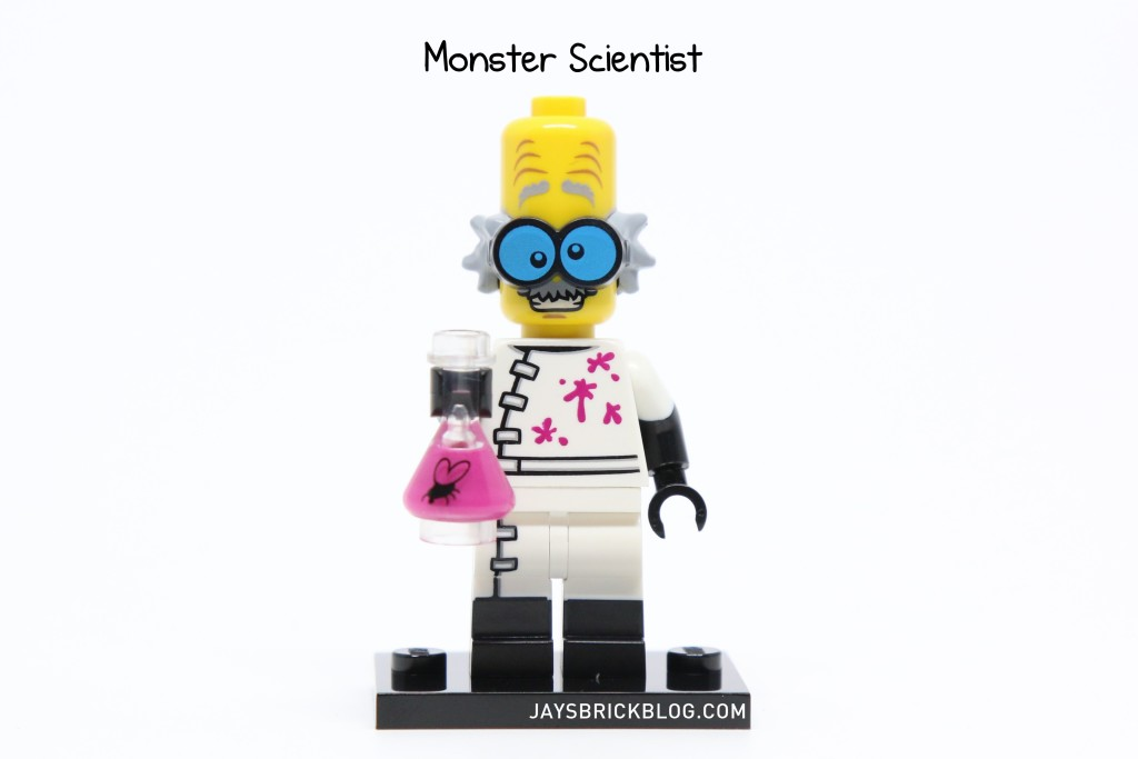 LEGO Minifigures Series 14 - Monster Scientist Minifigure