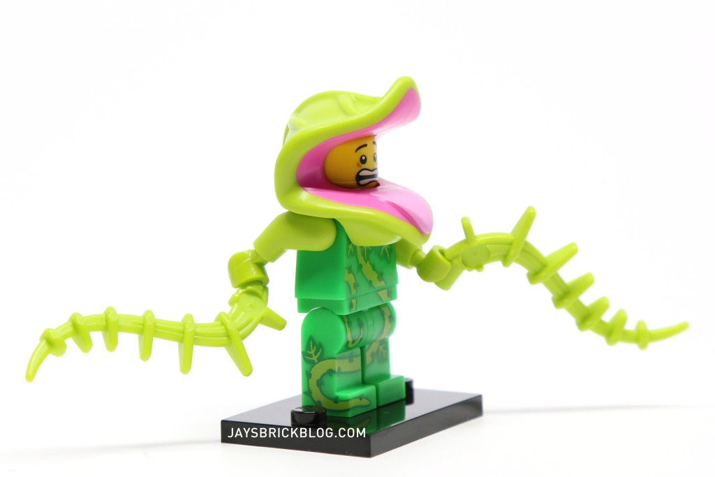 LEGO Minifigures Series 14 - Plant Monster Minifig Side View