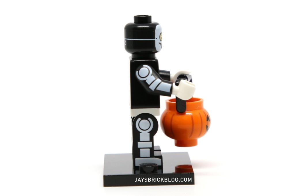 LEGO Minifigures Series 14 - Skeleton Guy Arm and Leg Printing
