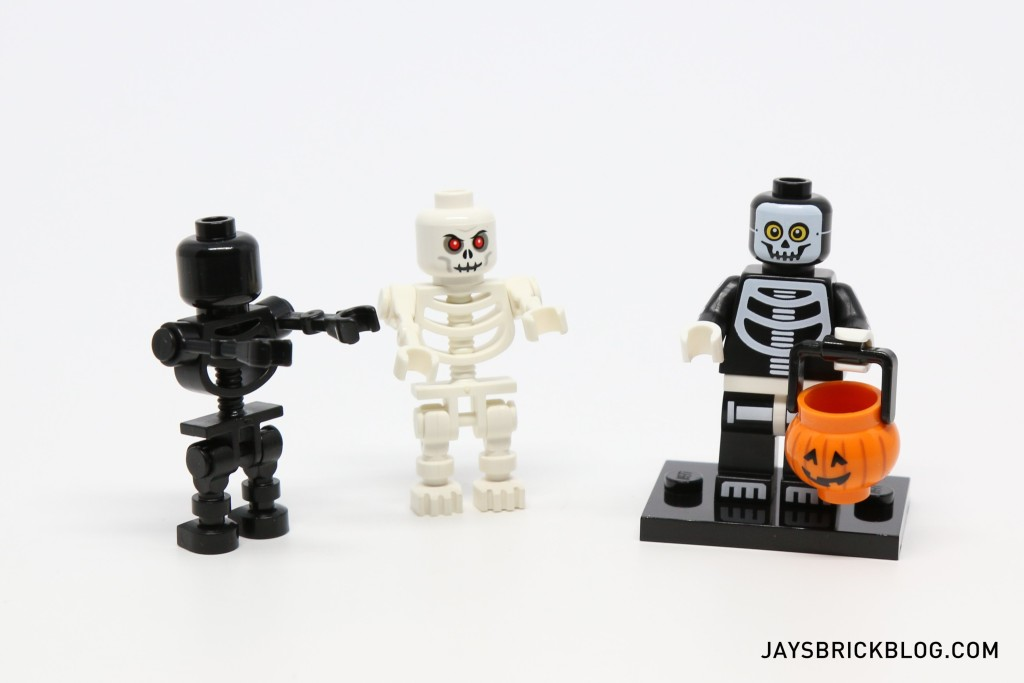 LEGO Minifigures Series 14 - Skeleton Guy and Skeletons