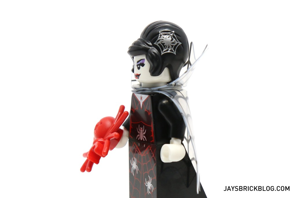 LEGO Minifigures Series 14 - Spider Lady Hairpiece Printing