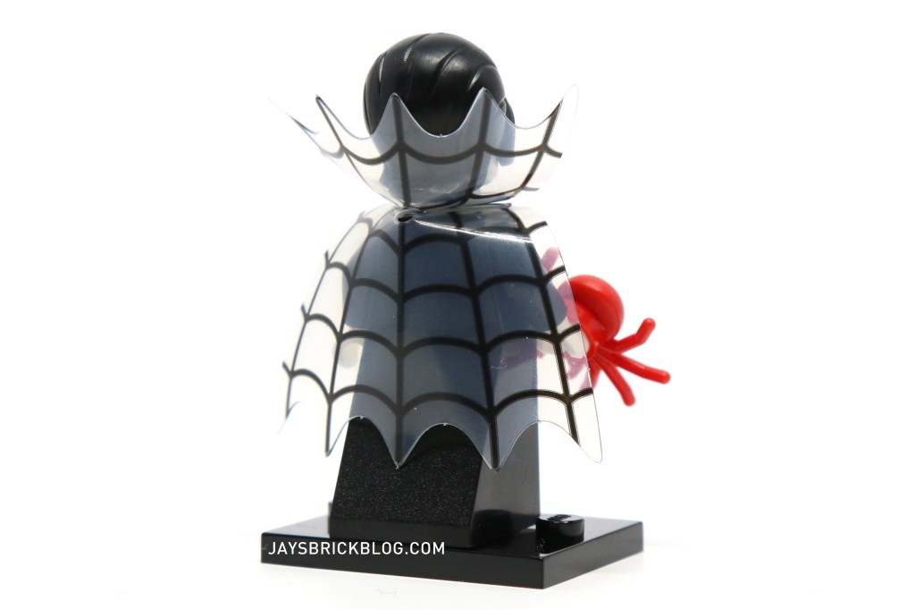 LEGO Minifigures Series 14 - Spider Lady Webbed Cape Back