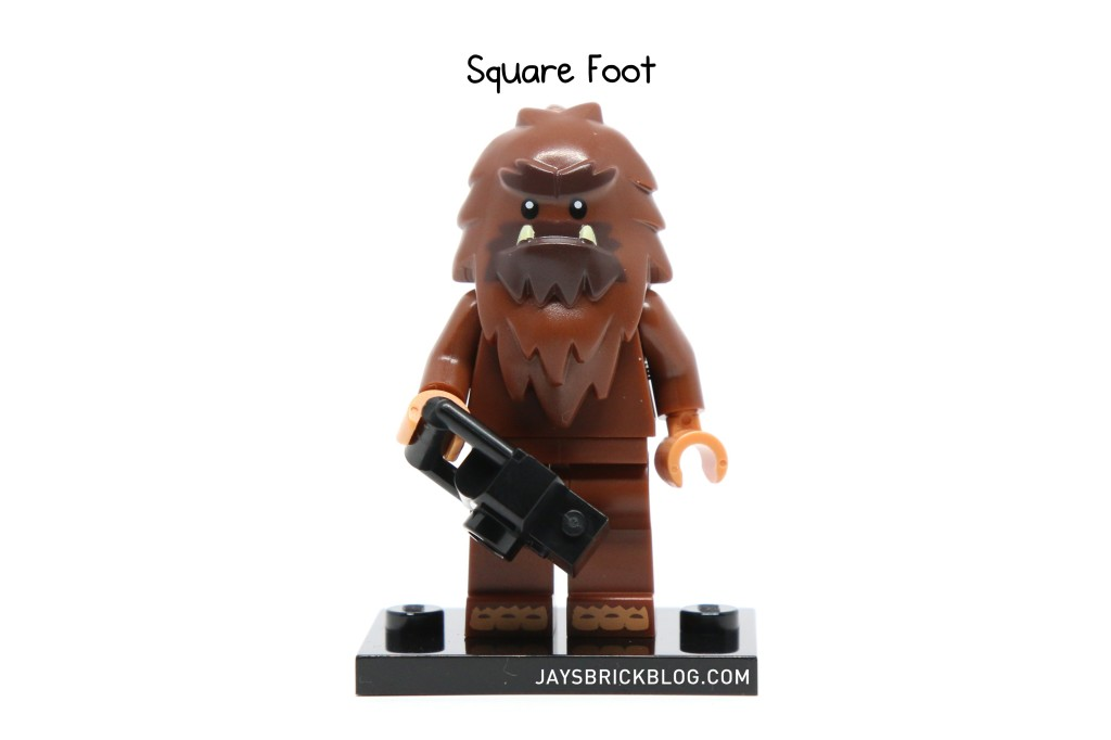 LEGO Minifigures Series 14 - Square Foot Minifigure