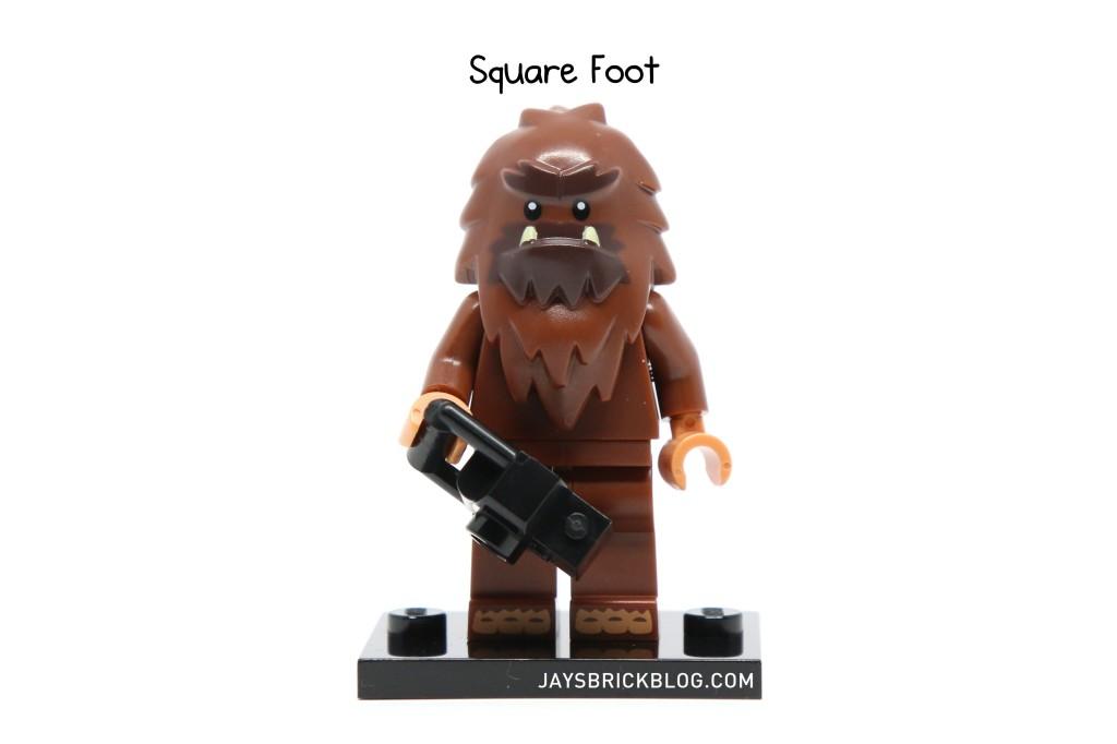 LEGO Minifigures Series 14 - Square Foot Minifigure