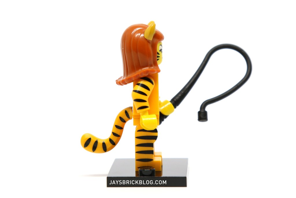 LEGO Minifigures Series 14 - Tiger Woman Minifig Arm Printing