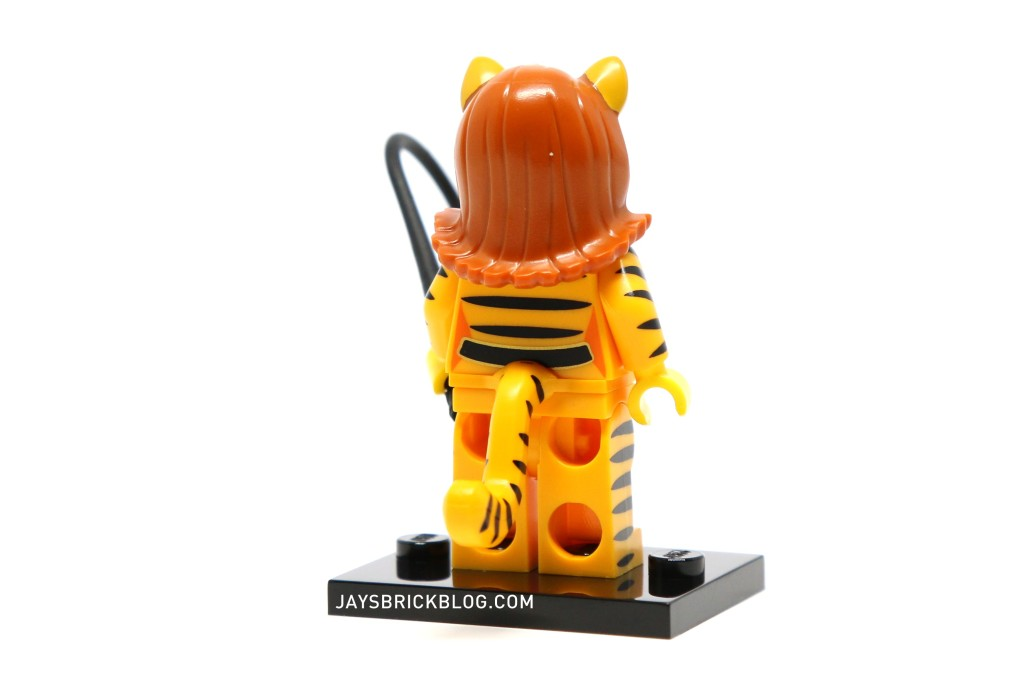 LEGO Minifigures Series 14 - Tiger Woman Minifig Back Printing