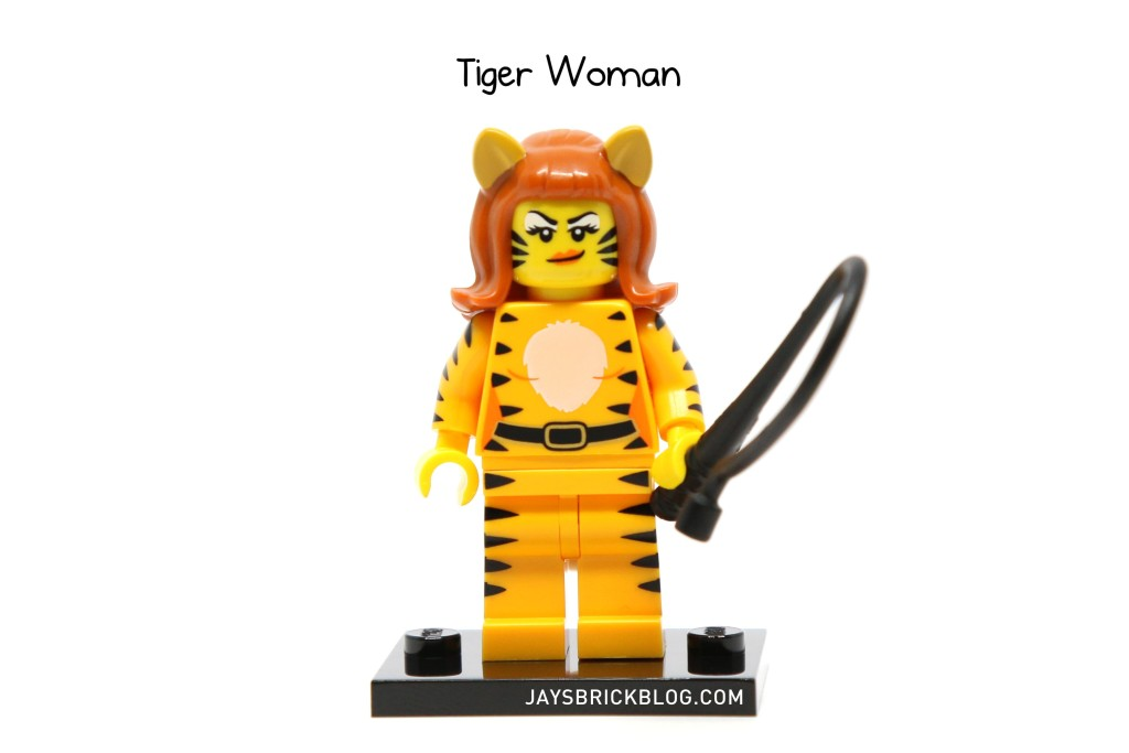 LEGO Minifigures Series 14 - Tiger Woman Minifigure