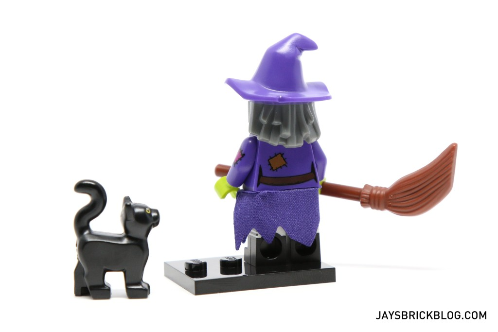 LEGO Minifigures Series 14 - Wacky Witch Minifig Back Printing