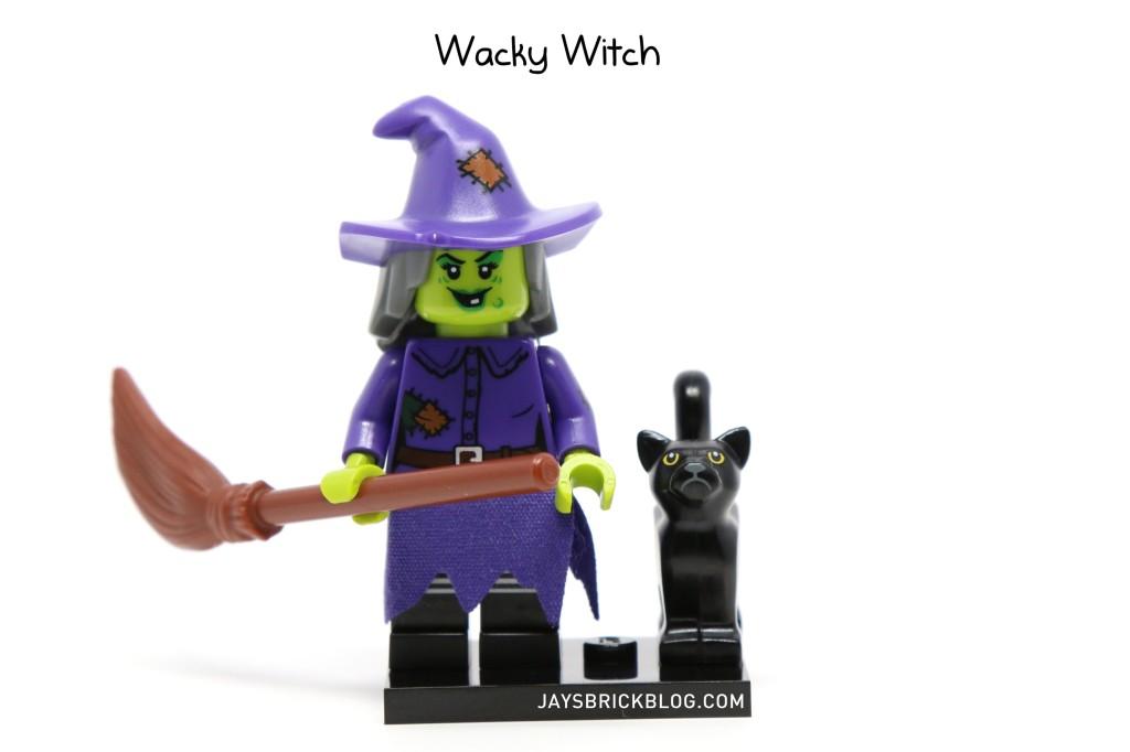 LEGO Minifigures Series 14 - Wacky Witch Minifigure
