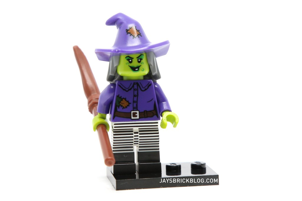 LEGO Minifigures Series 14 - Wacky Witch Striped Pants