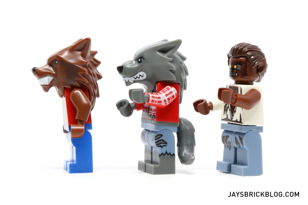 LEGO Minifigures Series 14 - Werewolf Comparison