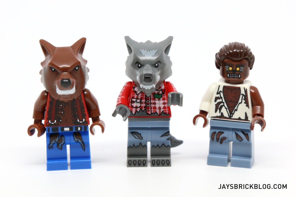 LEGO Minifigures Series 14 - Werewolf Comparisons