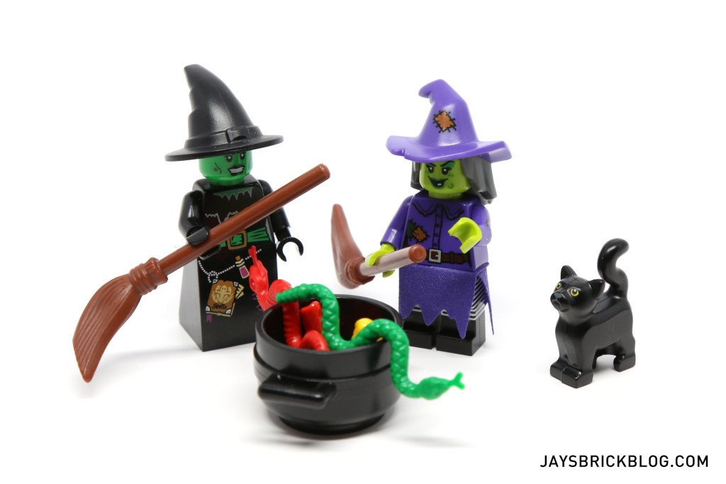 LEGO Minifigures Series 14 - Witches Doing Witchy Stuff