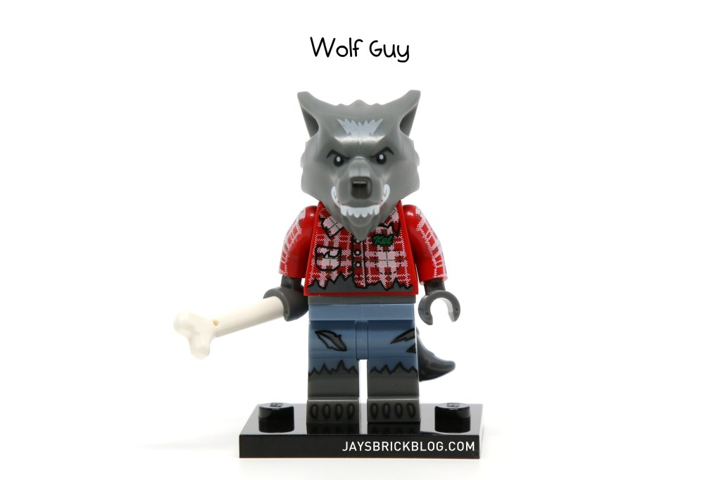 LEGO Minifigures Series 14 - Wolf Guy Minifigure