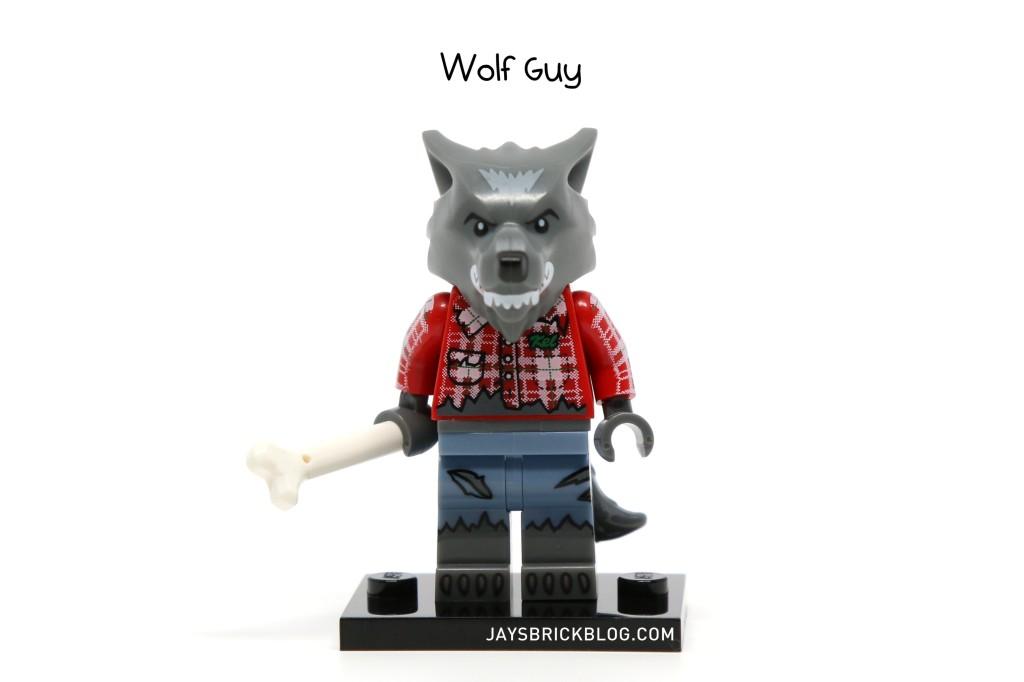 LEGO Minifigures Series 14 - Wolf Guy Minifigure
