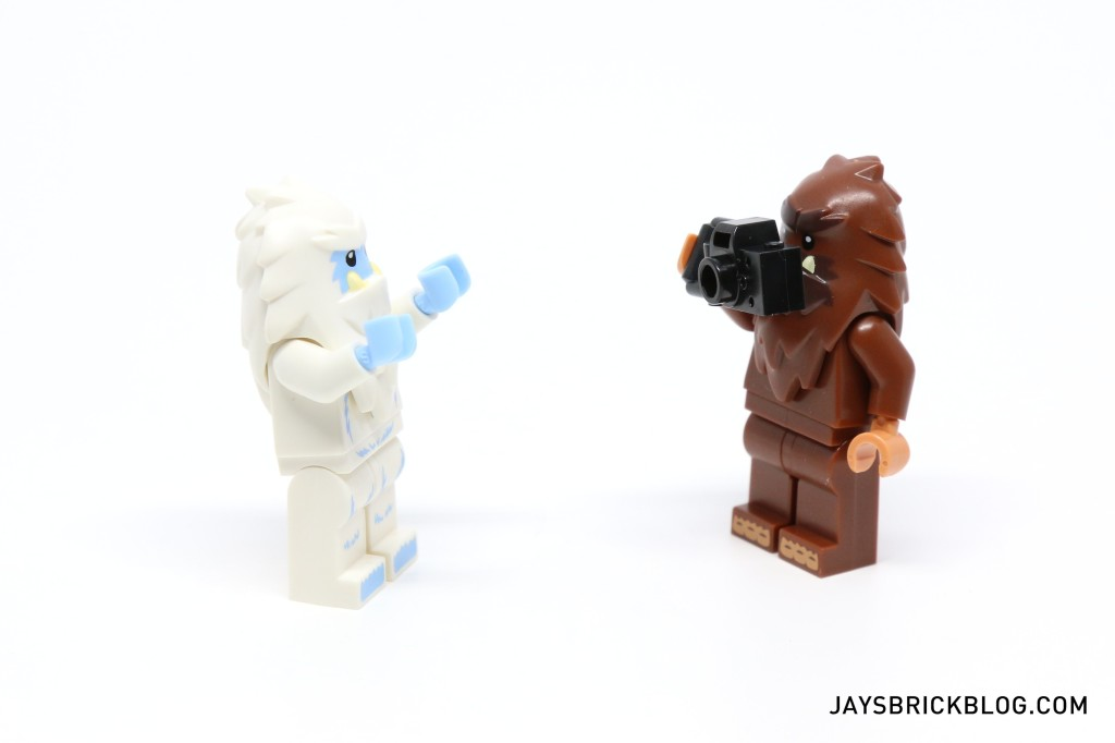 LEGO Minifigures Series 14 - Yeti and Bigfoot Minifigs
