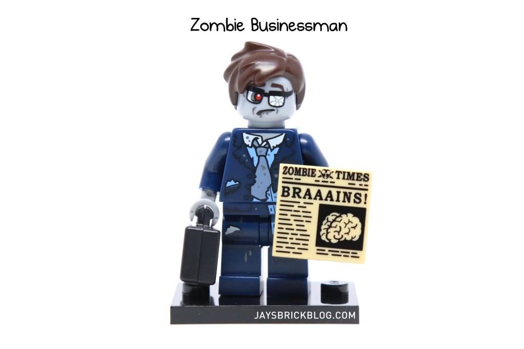 LEGO Minifigures Series 14 - Zombie Businessman Minifigure