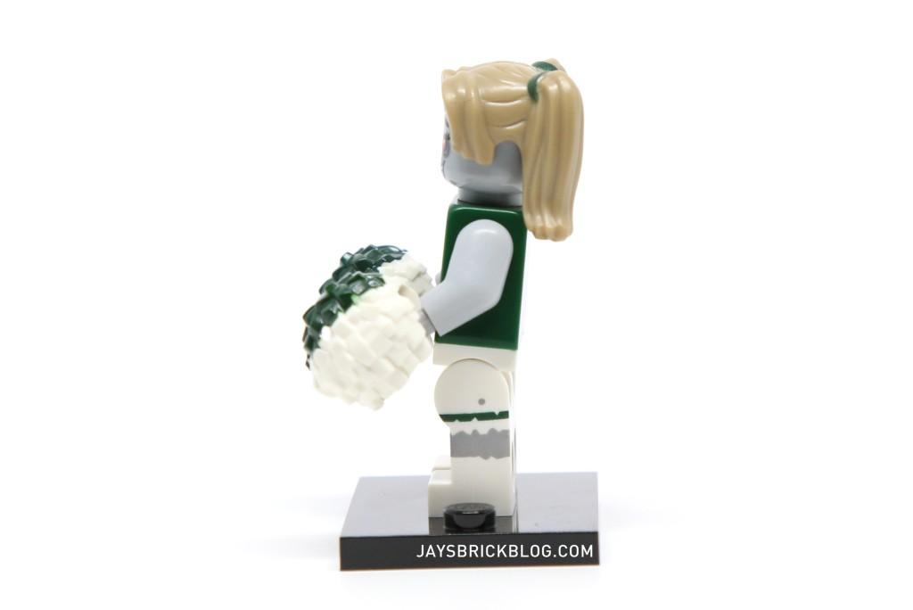 LEGO Minifigures Series 14 - Zombie Cheerleader Leg Printing