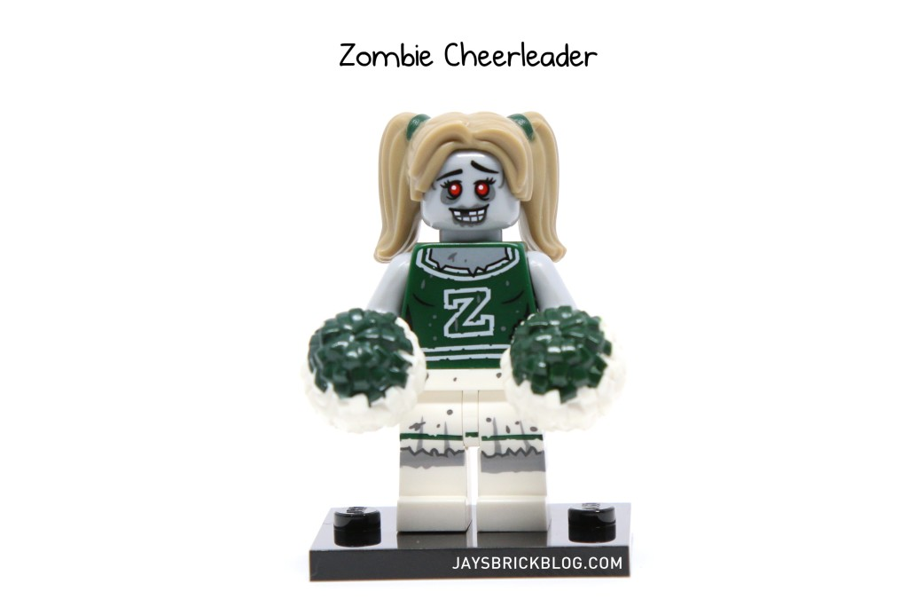 LEGO Minifigures Series 14 - Zombie Cheerleader Minifigure