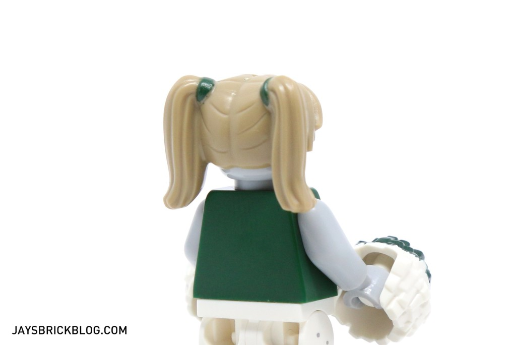 LEGO Minifigures Series 14 - Zombie Minifigure Pigtails Hair