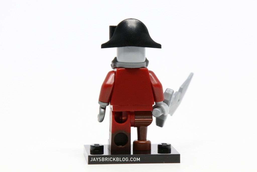 LEGO Minifigures Series 14 - Zombie Pirate Leg Back Printing