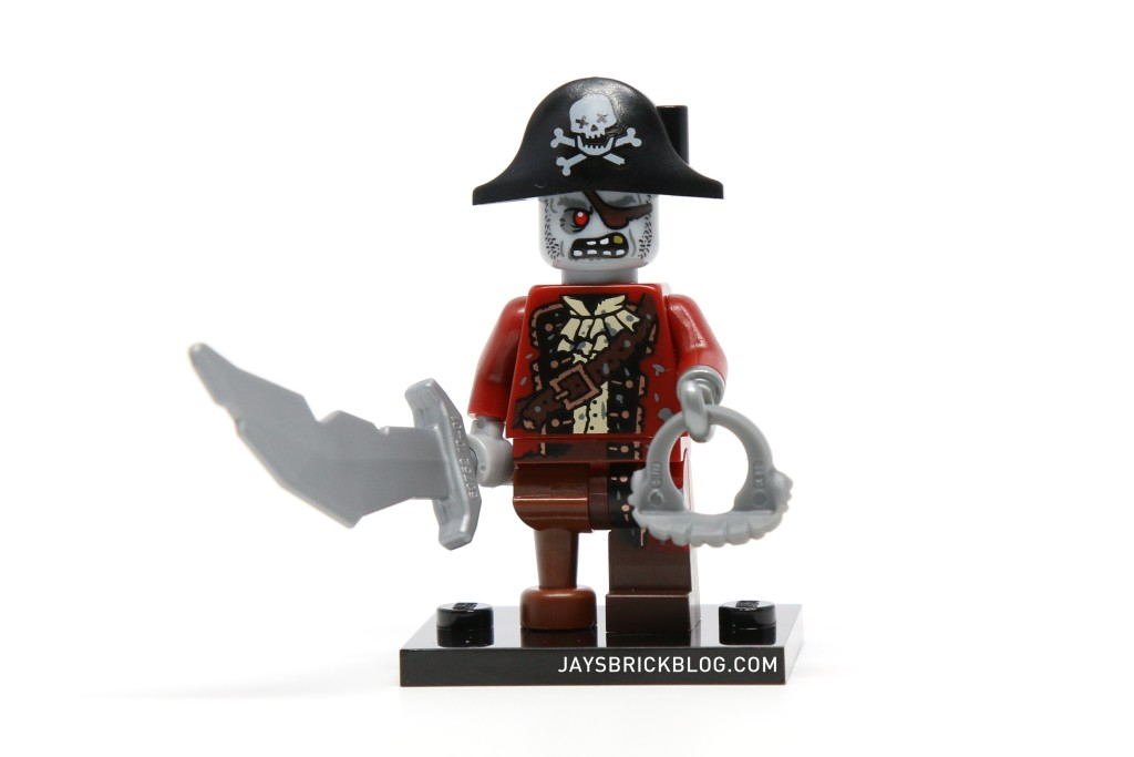 LEGO Minifigures Series 14 - Zombie Pirate Without Beard