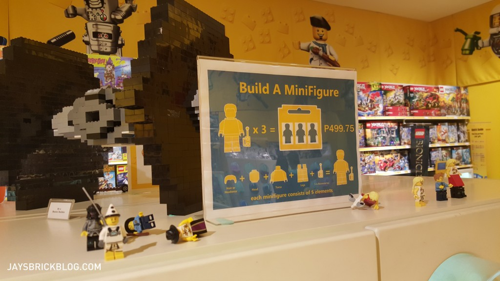 Manila LEGO Store - Build A Minifigure Station