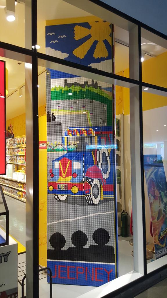 Manila LEGO Store - Jeepney Mosaic