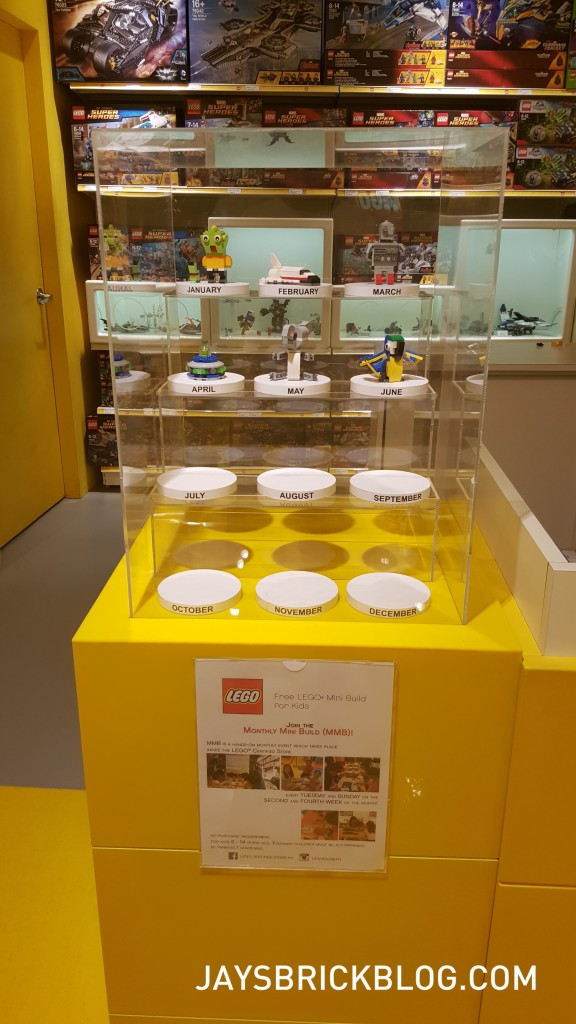Manila LEGO Store - Monthly Mini Build Display